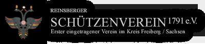 Logo Reinsberger Schützenverein 1791 e.V.